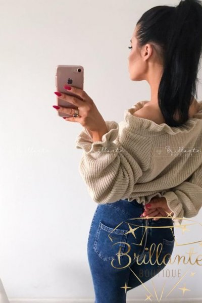 Legginsy long zip jeans
