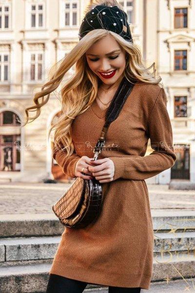 Sukienka ALEXA brown