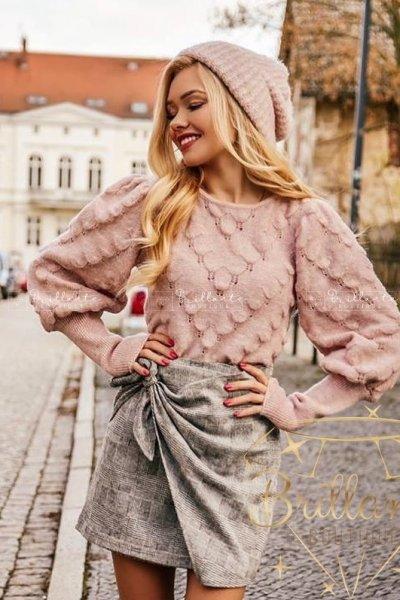 Sweterek CANDY różowy