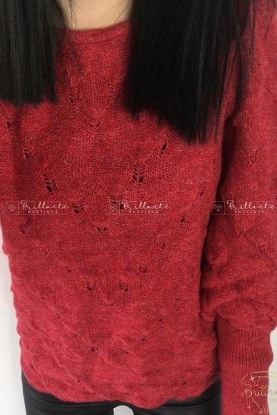 Sweterek CANDY czerwony