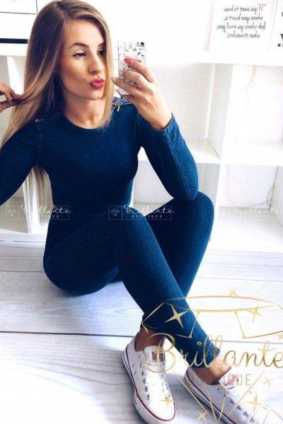 Bluzka Gold Zip Jeans