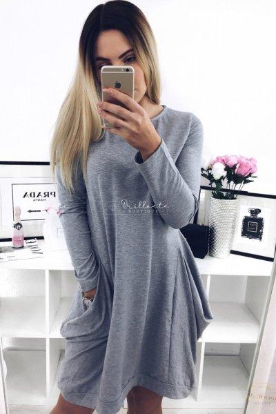 sukienka Gray Casual