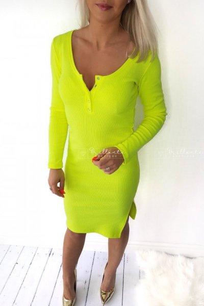 Sukienka essentials na zatrzaski