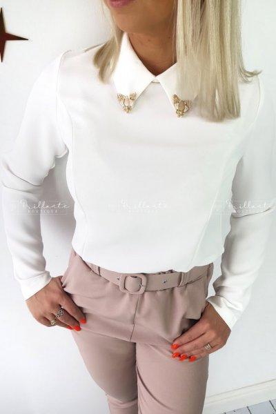 Bluzka koszulowa VOLER white