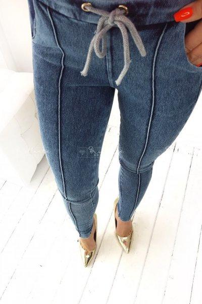 Legginsy jeans baggy