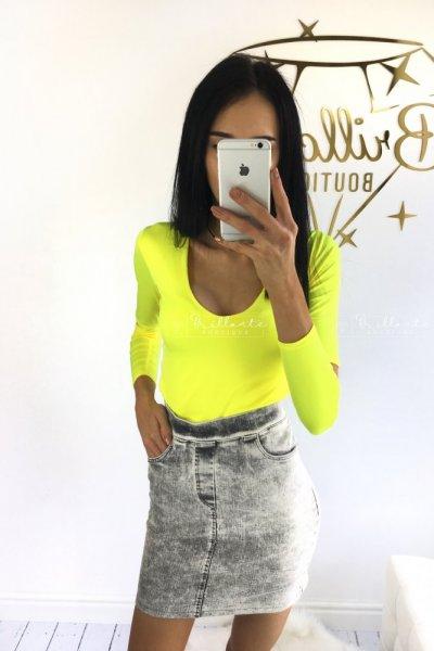 Bluzka Second Skin yellow