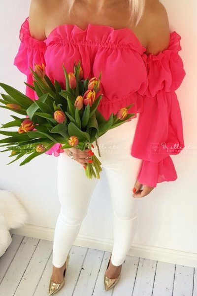 Top hiszpanka flawless rózowa