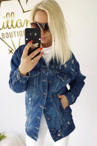 Kurtka jeans longee