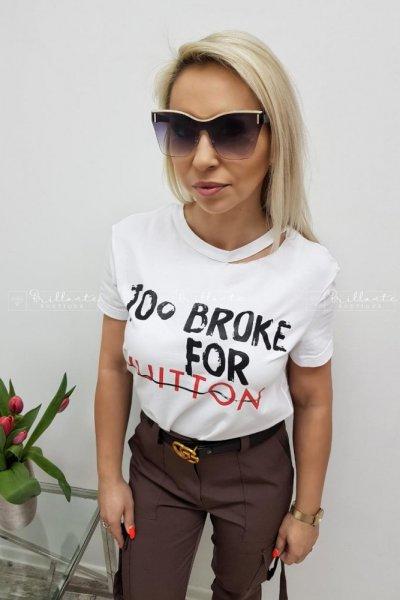 T-shirt Vuitton White