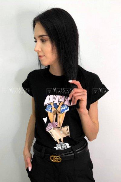 Tshirt LALU black