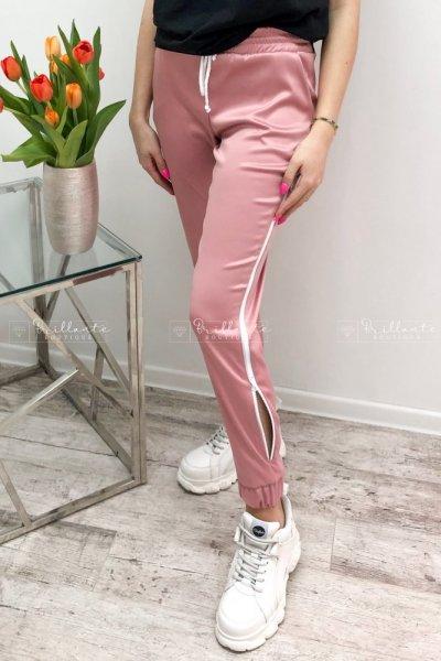 Spodnie SATIN pink