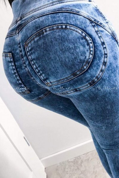 Legginsy push up pockets jeans