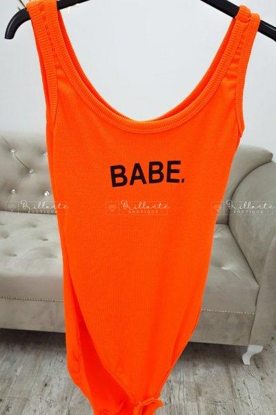 Body neon babe pomarańcz