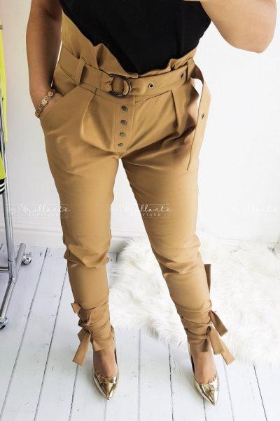 Spodnie GOIN BAD karmel