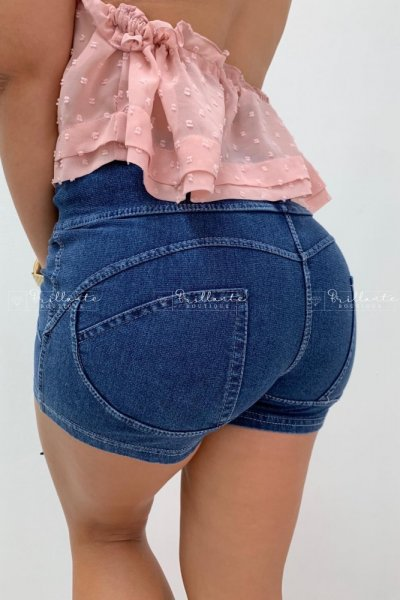 Szorty Push Up Pockets Jeans