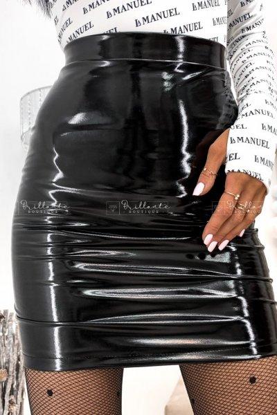 Spódniczka LATEX czarna