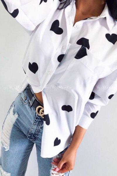 Koszula serca black