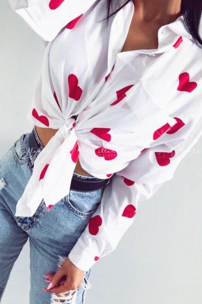 Koszula serca red