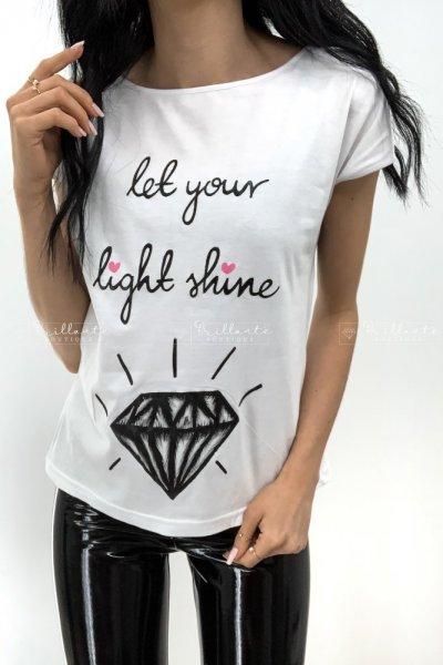 Bluzka let your light shine