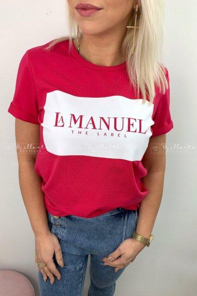 Tshirt LaManuel amarant