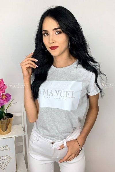 Tshirt LaManuel szary