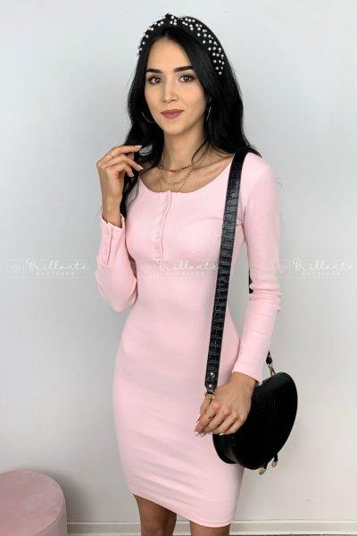 Sukienka essential light pink